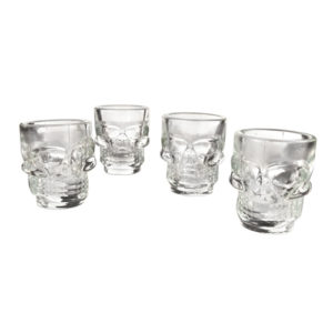 Skull Shot Glasses - 4 pack