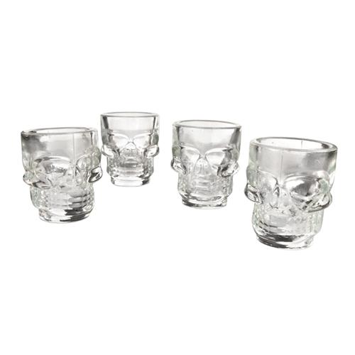 Skull Shot Glasses - 4 pack
