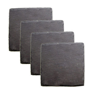 Chicago Bar Shop Country Home: Square Slate Coasters